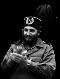 Fidel Castro w Spodku podczas wizyty w Katowicach w 1972